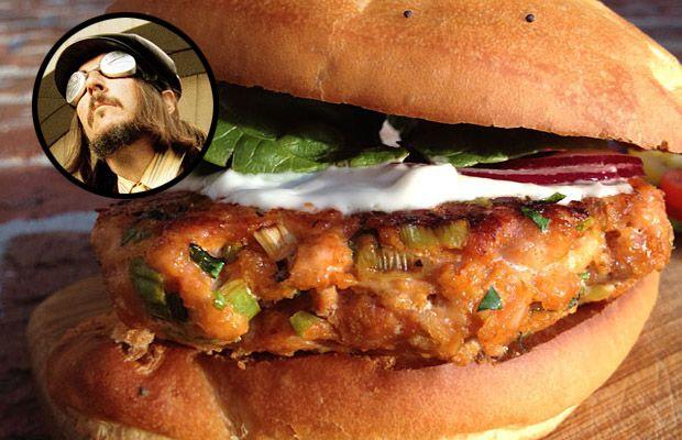 "Hamburger di salmone ""John the Fisherman"""