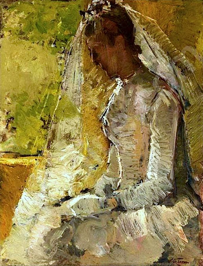 Jan Toorop The Bride