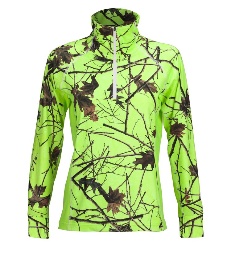 Trailcrest Camo Women's Impulse Active Performance 1/4 Zip Pullover Base Layer Long Sleeve Top. Stretchy elastic 4 way stretch fabric helps you move with ease and without restrictions for a super comfortable fit. Ultra-Soft, breathable and moisture-wicking materials keeps you dry and comfortable during your workout or day out in the fields. Anti-microbial technology keeps you dry and odor free throughout your workout and day. 90% Polyester/10% Spandex. Trailcrest is a lifestyle camo brand...
