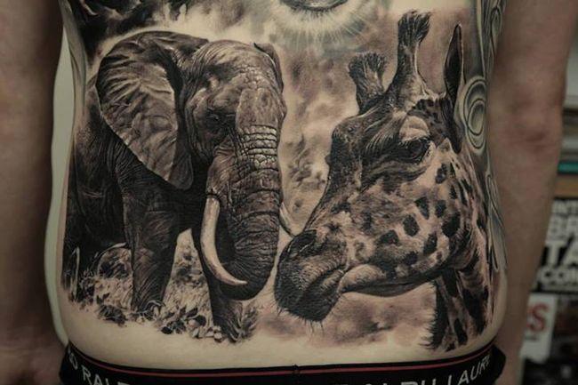 Hyper Realistic Tattoos This Man Has Just Raised