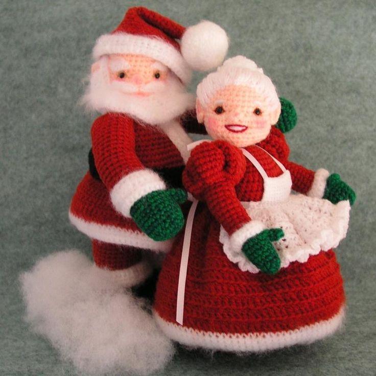 - Crochet Pattern Mrs Santa Claus Doll PDF by BluebearyTreasures Christmas ...