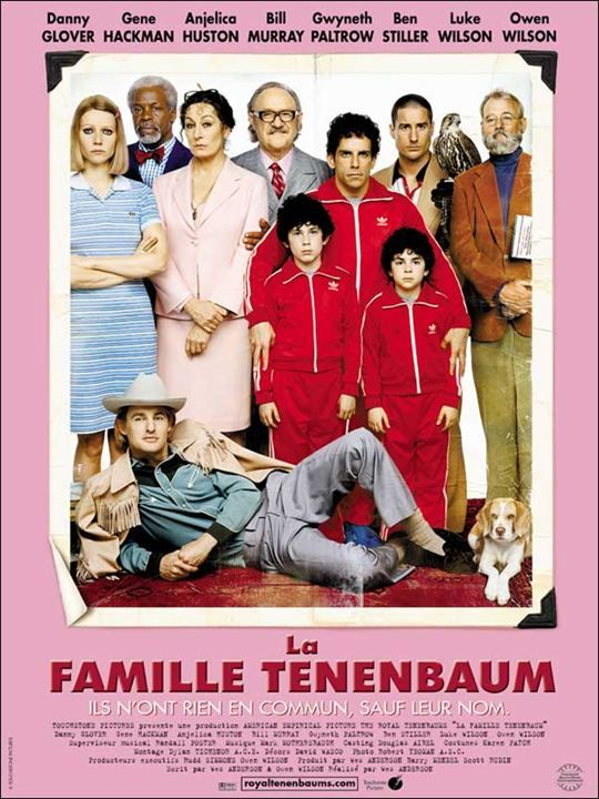 68. The Royal Tenenbaums (Wes Anderson, 2001)