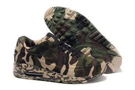 the best attitude 231e4 9ed12 1767  Nike Air Max 90 Vt Herr Army Grön SE259169NHqqcBOO