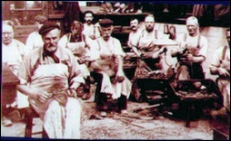 The founders of NPS Shoes Co-operative in 1881