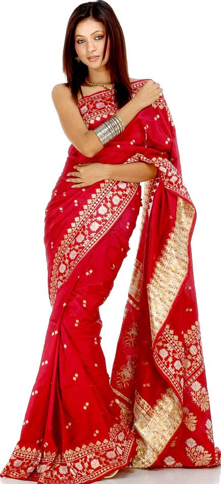 Simple Pure Silk Saree