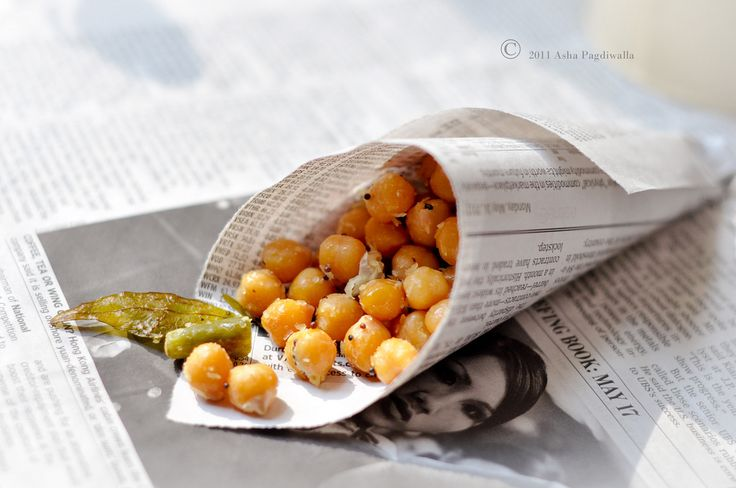 "South indian ""Street"" Food - Sundal (Chickpea Salad)"