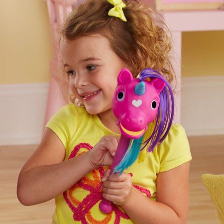 Puppet-on-a-Stick™ Rainbow Prancers (Pink)
