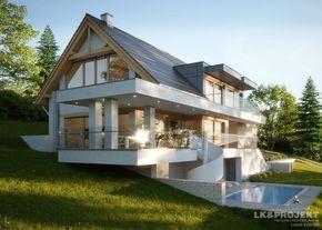 Projekty domów LK Projekt LK&1355 zdjęcie wiodące