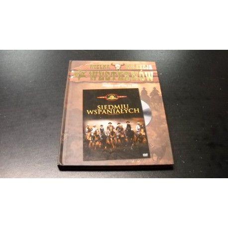 SIEDMIU WSPANIAŁYCH - BRONSON BRYNNER MCQUEEN DVD - Opole