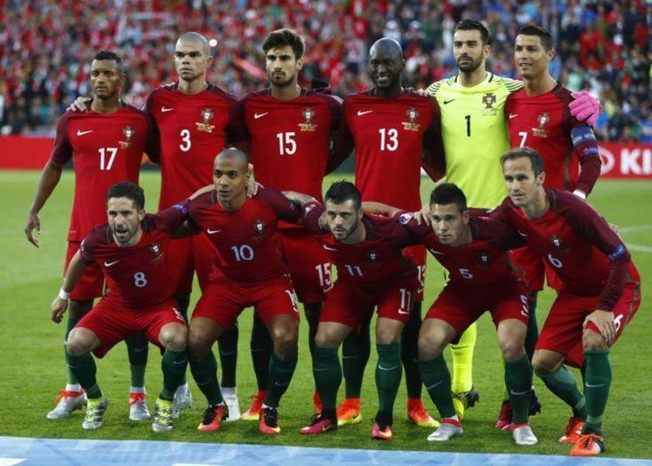 Portugal (Euro 2016): Nani, Pepe, André Gomes, Danilo, Rui Patrício, Cristiano Ronaldo;          Moutinho, João Mário, Vieirinha, Raphael Guerreiro e Ricardo Carvalho.