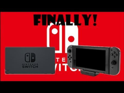NEW NINTENDO SWITCH DOCK! (Its about time)