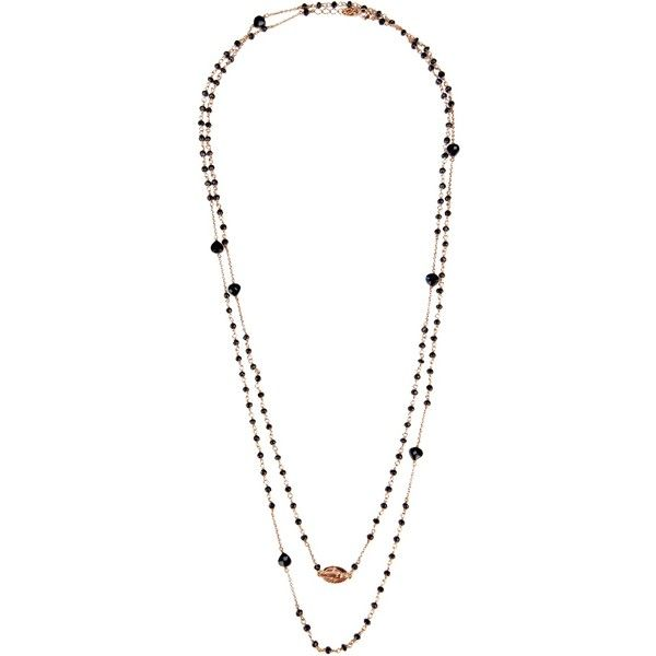 MAMAN ET SOPHIE multi chain necklace ($290) ❤ liked on Polyvore