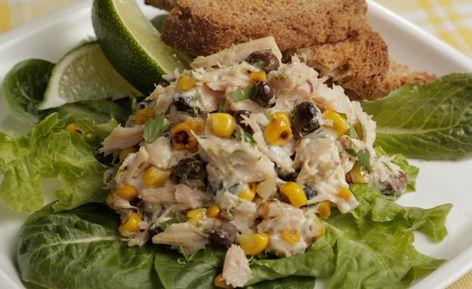 Πανεύκολη σαλάτα με τόνο