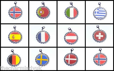 European Flags Clip on Bottlecaps Choose Your Flag from 11 Countries UK Seller | eBay