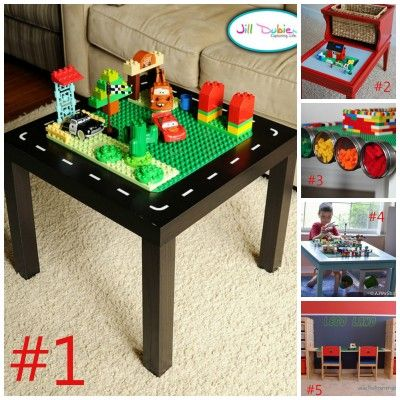Love #5!! Can't wait for Ikea, this would be great for a desk for school work too! Plus additional storage in his room.
