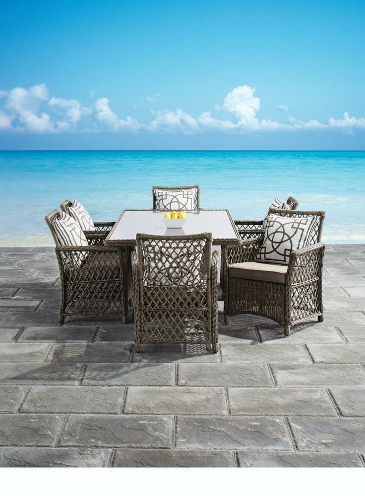 Patio 2014 Collection  Lyon Dining by GlucksteinHome. 192 best Patio Perfection images on Pinterest   Patios  Folding