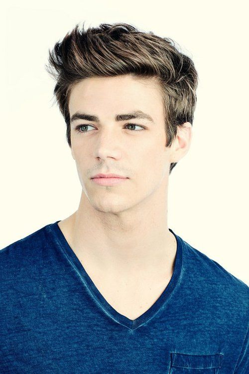 Grant Gustin....or Berry Allen in the new show Flash! Can't wait see...Stephen amell (arrow)is also in it!!