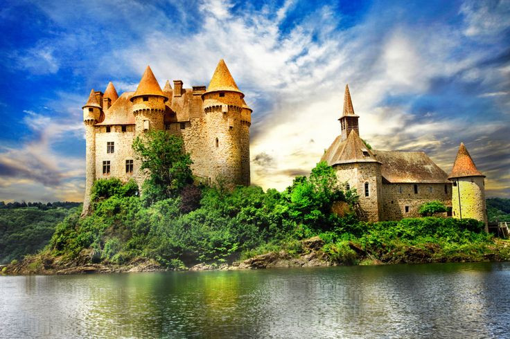 Chateau de Val, France puzzle in Castles jigsaw puzzles on TheJigsawPuzzles.com. Play full screen, enjoy Puzzle of the Day and thousands more.