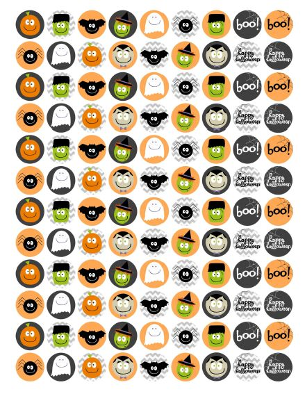 free printable halloween labels and stickers - Free Printables For Halloween