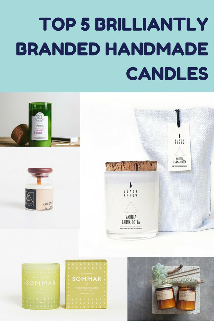Though you can't judge a book by its cover or a candle by its container, these five Brilliantly Branded Handmade Candles (try to say that a few times in a row!), are definitely on my wish list! Read:  http://www.goodideasgrowontrees.com/handmadecandles/