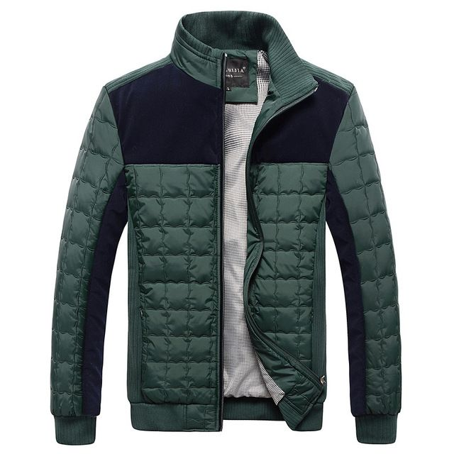Special price HOT Men Jacket Thicken Winter Jacket Men Windbreaker Jacket For Men Slim Warm Casual Cotton-Padded Men Coat Black Green just only $30.30 with free shipping worldwide  #jacketscoatsformen Plese click on picture to see our special price for you