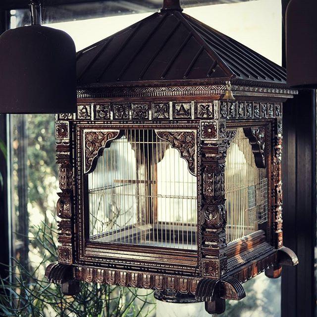 A birdcage from Nepal. #interiorforyou #interiorandhome #interiorphorography #decor #deco #xpro2 #fujifilmx #fujifilm #ishootfujix  #homeimprovement #homedecor #housedecor
