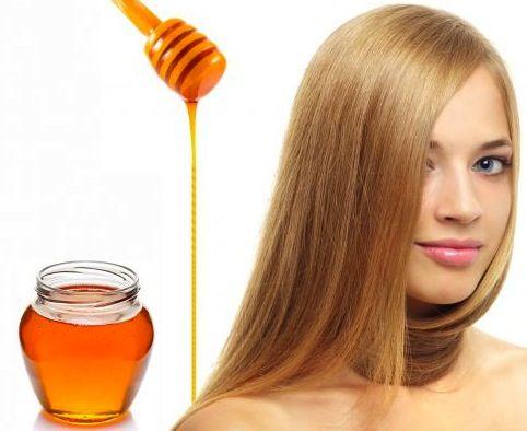 Remedios naturales con miel para el cabello