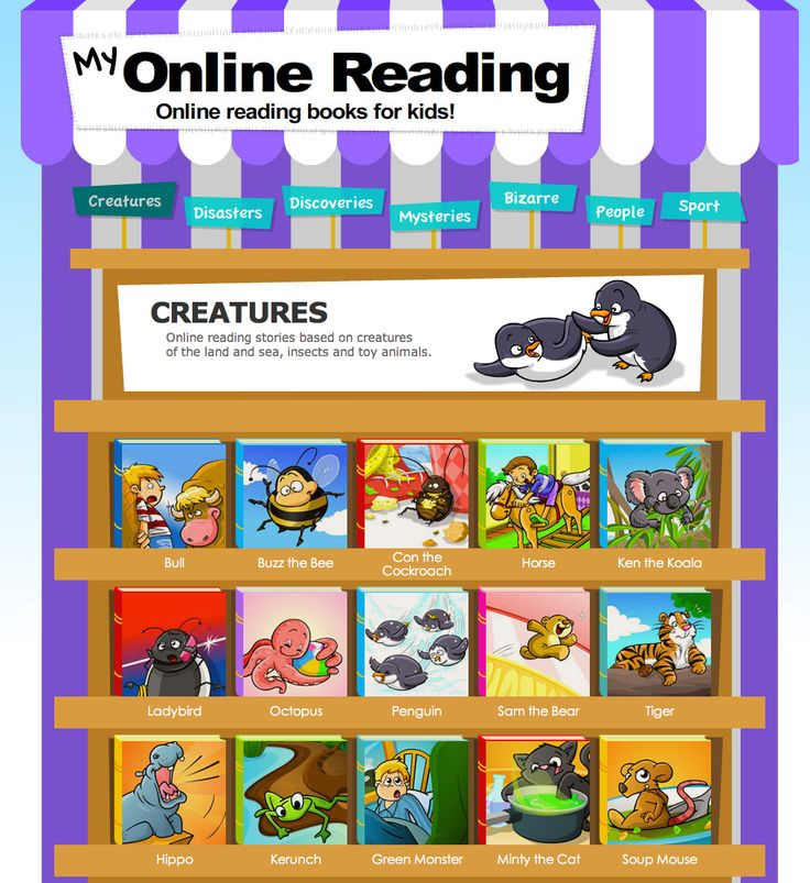 FREE Online books for beginning readers!