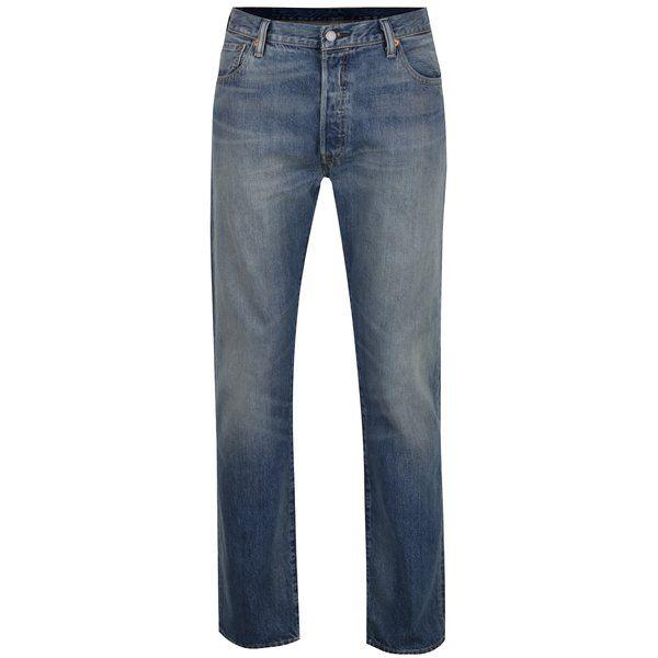 Blugi albaștri Levi's® 501™ cu aspect ușor prespălat