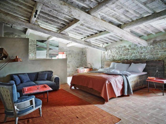 Unique historic Umbrian farmhouse by SpecialUmbria - CAANdesign | Architecture and home design blog