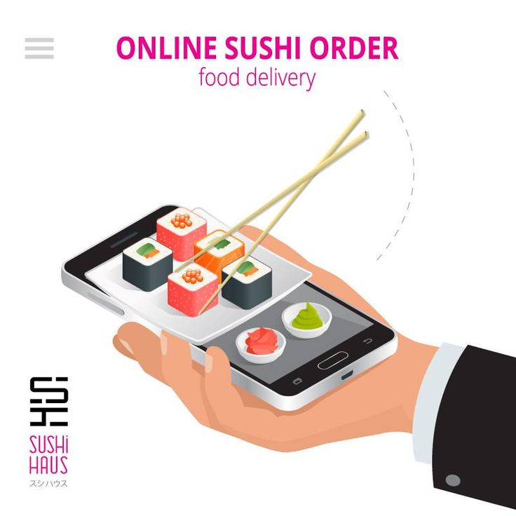 Now place your #SUSHI #home #delivery order #online @ www.sushihaus.in