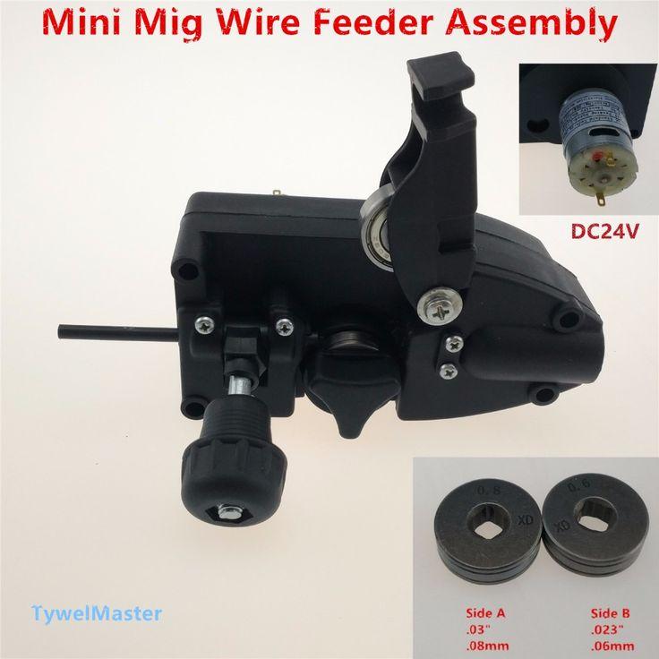 0.6/0.8mm SSJ-16 Asamblea 24 V DC Light Duty MIG Alimentador De Alambre Máquina de Alimentación de Alambre De Soldadura Mig Antorcha de soldadura(China (Mainland))