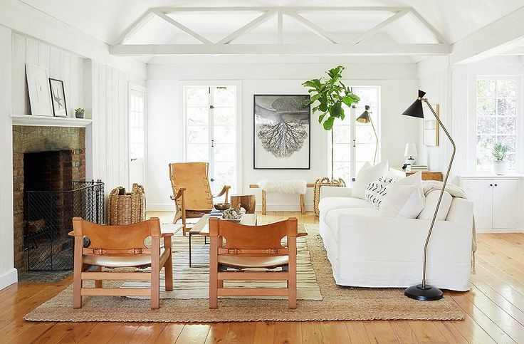 The design of this space was in part inspired by the living room in Jenni's…