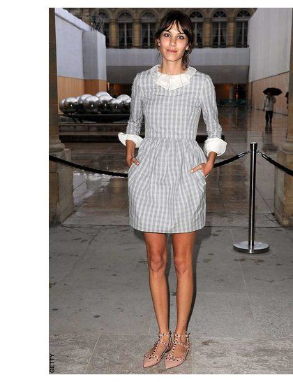 Alexa Chung: fashion and style pics | ELLE UK