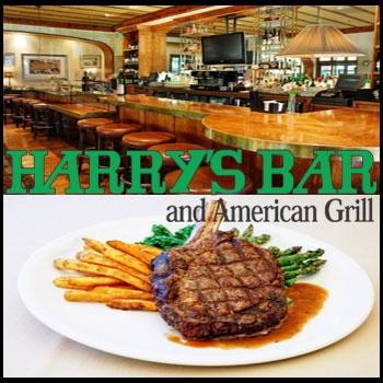 $30 for $60 Toward Dinner at Harry's Bar & American Grill. #sandiego #harrysbarandamericangrill #lajolla