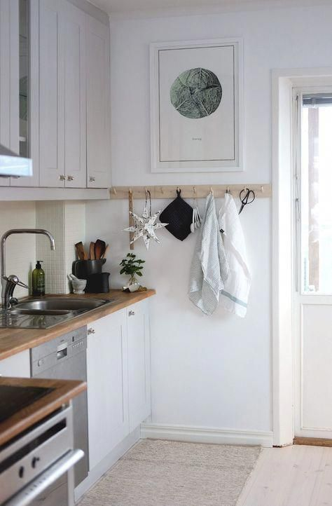 Kitchen renovation on a budget, Scandinavian decor, bistro kitchen - Kitchen Renovation On A Budget