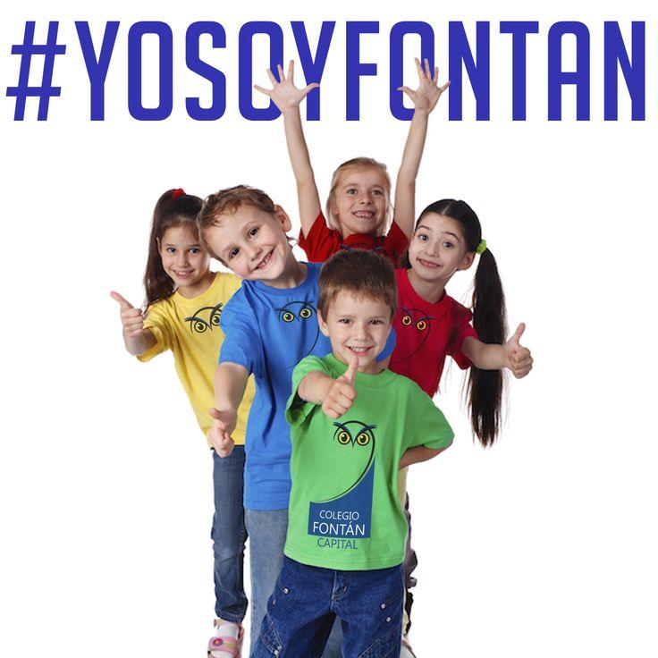 #Sihayuncolegiodonde Estudias por placer y no por obligación.  #YOSOYFONTAN