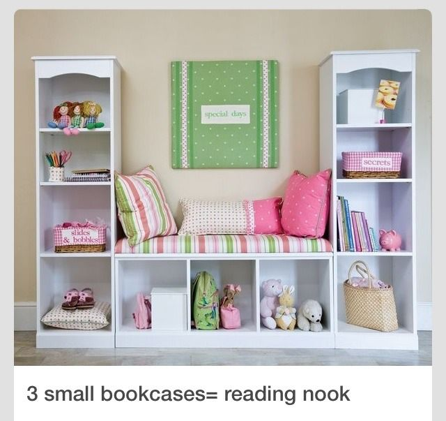 3 Bookcases For Reading Nook