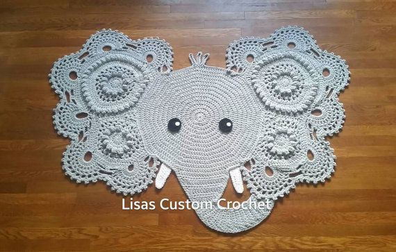 : Crochet Elephant Rug Pattern Fr ~ Creatys