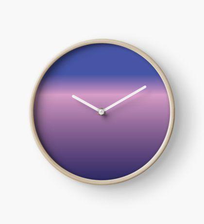 Purple Blend Clock