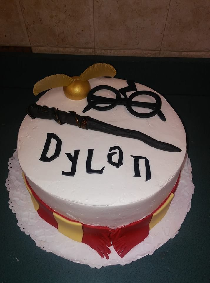 Harry Potter Cake Made By Wendy S Designer Cakes In Tampa Fl