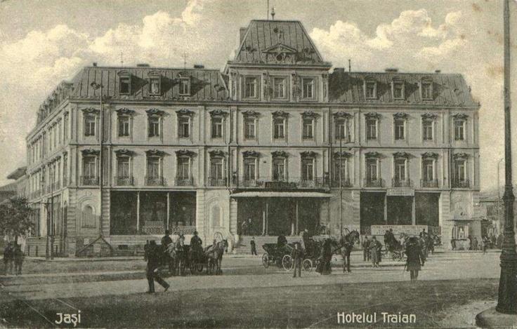 Iaşi, Hotelul Traian (perioada interbelica)