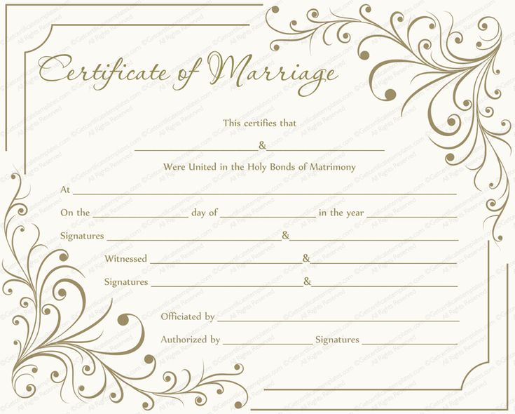 The 25+ best Gift certificate sample ideas on Pinterest - sample marriage certificate