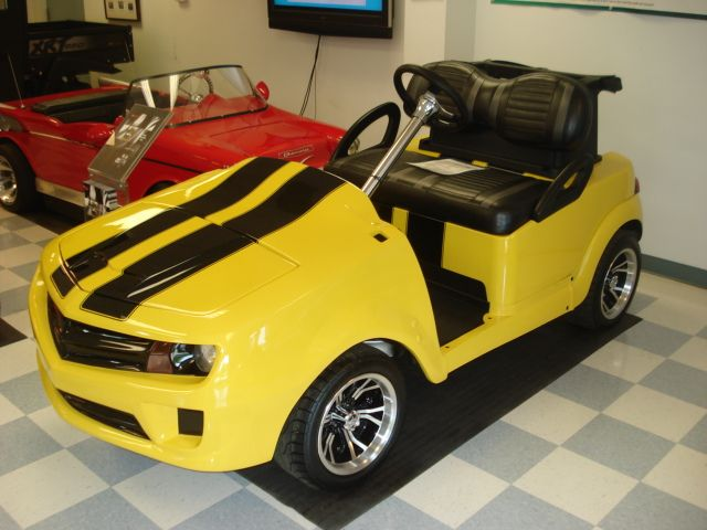 Customized golf carts are not limited to their paint jobs. The possibilities are endless as our team can provide you with a look that will grab people's attention.