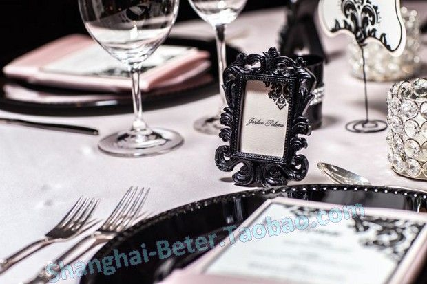 http://detail.1688.com/offer/521017014218.html  浪漫家居 黑色巴洛克相框SZ041/B创意新娘结婚用品 婚庆用品批发 #weddingdecor #weddingfavors