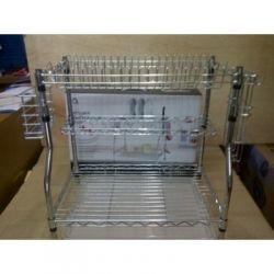 OX-967 Rak Piring Dapur Oxone - Stainless