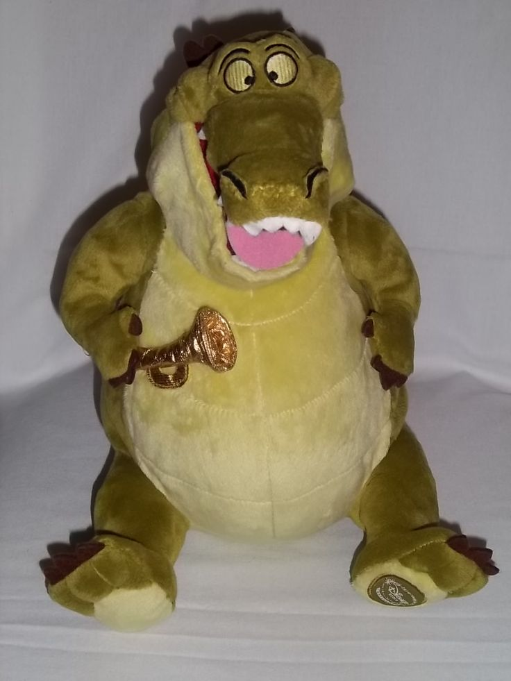 stuffed animals | ... Store Large Plush Princess And The Frog Louis Alligator Stuffed Animal