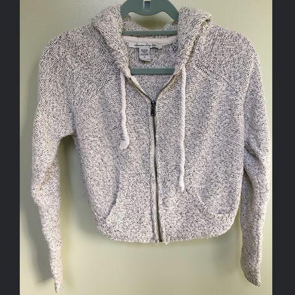 American rag clothing zip up hoodie Sweatshirt/zip up hoodie from American rag. Like new. Size small. Loose fit. Causal wear. American Rag Tops Sweatshirts & Hoodies