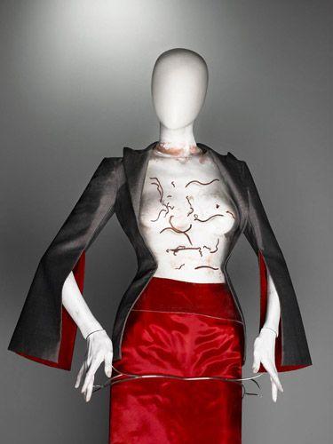 Ensemble, The Hunger, spring/summer 1996 | Alexander McQueen: Savage Beauty | The Metropolitan Museum of Art, New York