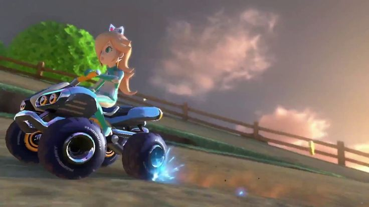 Mario Kart 8 Deluxe Official Souped Up Trailer